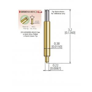 KMW050-001C2 for .5mm Pitch
