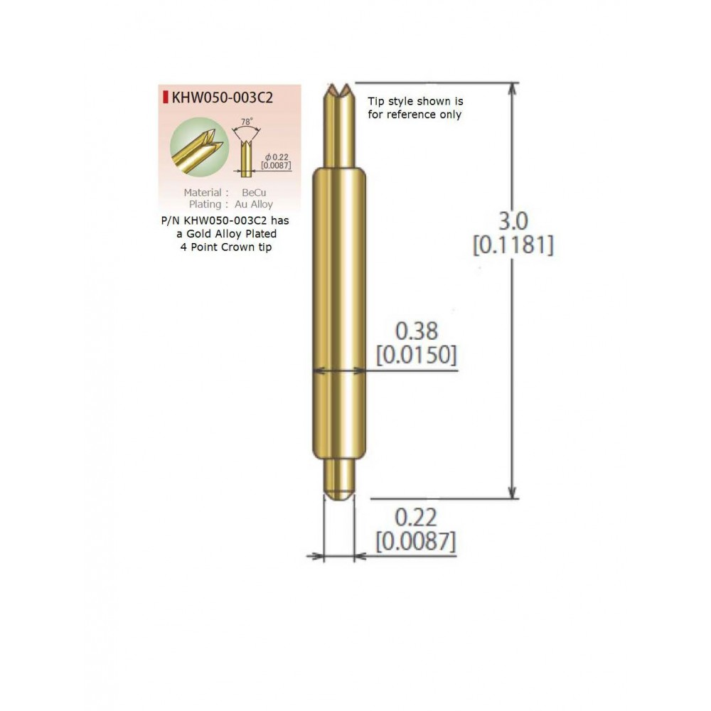 KHW050-003C2 for .5mm Pitch